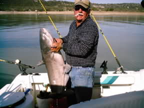 Catfish caught on December 6, 2006